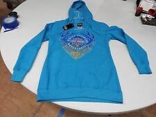 LGHD 5D31-HB3D-XL   Harley-Davidson® Womens  Pullover Blue Long Sleeve Hoodie