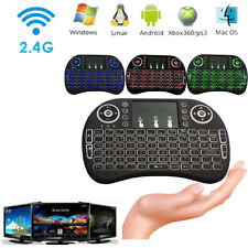 2.4G Backlit Wireless Touchpad Keyboard Air Mouse For PC Pad Android TV Box Lot