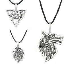Odin Raven Viking Fox Triquetra Fenrir Teen Wolf Supernatural Necklace
