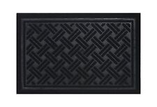 Rubber Backed Non-Slip Doormat For Indoor outdoor Entrance Rug Free Shipping