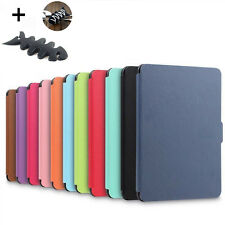 Smart Magnetic Wake /Sleep PU Leather Case Cover Amazon Kindle Paperwhite +Gift