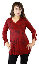 Red Long Sleeve Sublimation Unique Soft Pregnancy Maternity