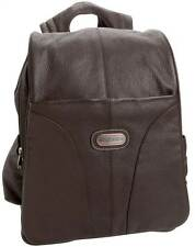 Leather Laptop Backpack in Black [ID 737751]