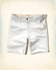 NWT men Hollister By Abercrombie Classic Fit  shorts size 34, 38 white