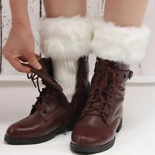 Winter Long Sock Boots Cuffs Sock Winter Warm Leg Socks