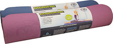 Fitness Mad Yoga Stretch Resistant Deluxe 6mm Evolution Mat & Carry Strap