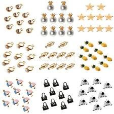 10Pcs/Lot Cute Mixed Shape Charms Pendant Bead Necklace Fit Bracelet DIY Jewelry