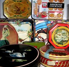 EARLY / VINTAGE BISCUIT TINS 1960/2000 ~ click HERE to browse or order