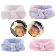 Infant Girls 0~6 Months Hospital Headbands Newborn Baby Bowknot Hairbands