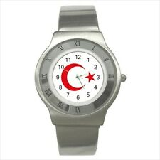 Emblem of Turkey Stainless Steel Sport Watch - Tabard Surcoat
