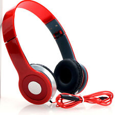 Pur Voic One Piece Over Ear Stereo Headphones Earphones Headset For PC MP3 Phone