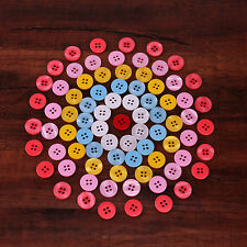 50PCS 20MM Top Quality Resin Buttons 4-Holes DIY sewing crafts shirt