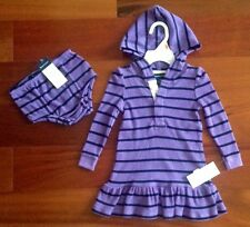 NEW WITH TAG RALPH LAUREN BABY GIRL HOODED DRESS