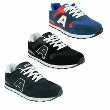 MENS AIRTECH CAMPUS LACE UP CASUAL GYM FITNESS TRAINERS RUNNING SHOES