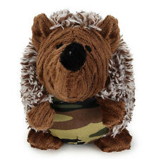 Pet Dog Squeaky Hedgehog Plush Toy Squeaker Sound Cat Chews Training Toys New
