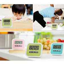 Fashion Digital Kitchen Clock Timer Cooking Count Down Up Magnetic Stand Home