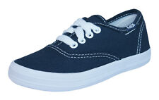 Keds Champion CVO Kids Lace Up Sneakers / Shoes - Navy Blue