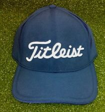 Titleist Bonded Tech Performance Golf Men's Cap Hat NEW Navy Fitted S/M L/XL