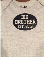 big brother 2016 shirt birth announcement big brother tshirt clothes top gift