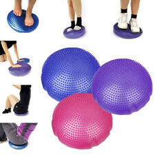 SPORT FITNESS BALANCE DISC STABILITY POSTURE CUSHION PAD ANKLE KNEE BOARD PHYSIO