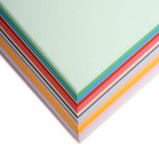 A4 Coloured Craft Sheets - Printer Copier Packs - 80gsm Paper