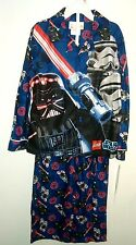 LEGO Star Wars Darth Vader Stormtroopers Flannel Type Pajama Set 6/7 - 8 - 10/12