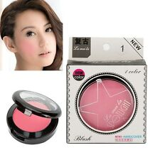 Professional Girl Beauty Makeup Cosmetic Blush Blusher Powder Palette Beauty