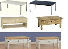 Corona Pine, Ash, Antique, Sonoma Oak,Gloss, Solid Oak Wood, Coffee Tables Sale