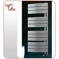 HEATED TOWEL RAILS PIEVE - WHITE CHROME OR ANTHRACITE