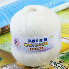 50g Soft Durable Cashmere Knitting Weaving Crocheting Wool Yarn for Sewing