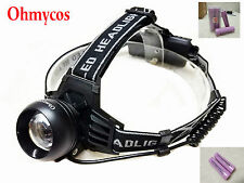 Ohmycos CREE T6  LED Hunting Headlamp Fishing Flashlight Hiking Torch Head light