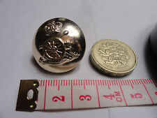 ROYAL ARTILLERY Officers QC Staybright Buttons (different sizes avaiable)