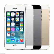 APPLE IPHONE 5S 4S 16GB SILVER FACTORY UNLOCKED SIM FREE MOBILE PHONE GRADE A O5