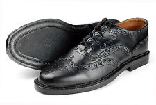 Scottish GHILLIE BROGUES Pure Leather Kilt Shoes Long Laces European Sizes 40-48