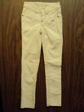 JUSTICE NWT 6 s  OFF WHITE CORDUROY JEANS NEW