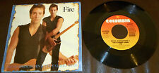 "BRUCE SPRINGSTEEN ""Fire"" EX/EX 1987 US ORIG. 7"" 45rpm single w/ Picture Sleeve"