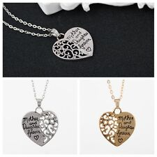 New Style Beautiful Heart Shape Letters Hollow Pendant Necklace Meaningful Gift