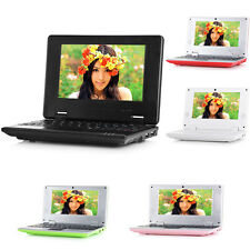 "7"" Android Mini Notebook 4GB/8GB Laptop Camera WIFI Netbook Keyboard Quad Core t"