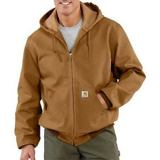 Carhartt Duck Active Jacket - Thermal Lined - CARHARTT BROWN