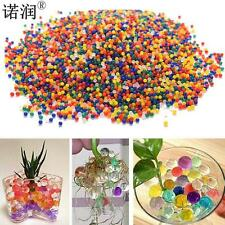 10000PCS/Bag Home Decor Pearl Shaped Crystal Soil Water Beads Bio Gel Ball Fo...