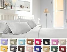 Clara Clark's 1800 Count 4 Piece Deep Pocket Bed Sheet Set