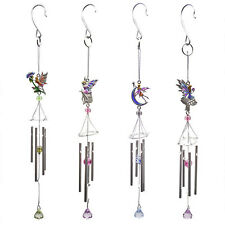 Metal and glass colourful Fairy windchimes !FREE UK P&P!