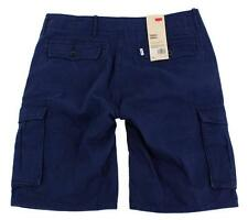NEW LEVI'S MEN'S ACE CARGO SHORTS NAVY BLUE #0160 ALL SIZES FREE SHIPPING NWT
