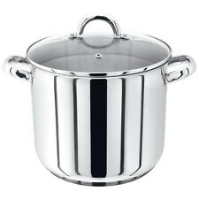Judge 24cm/26cm  Stainless Steel Stockpot With Vented Glass Lid
