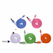 USB Data Cable Lead Sync Charger For Apple iPhone 6S/6/5S/iPod/iPad Mini