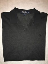 MEN'S RALPH LAUREN POLO 100% PIMA COTTON RUGBY  LONG SLEEVE SHIRT SIZE XL