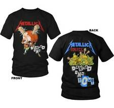 Metallica Damage Inc. S, M, L, XL, 2XL Black T-Shirt