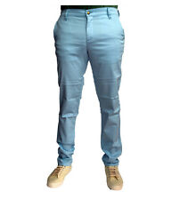 Monkee Genes Classic Skinny Blow Blue Chinos