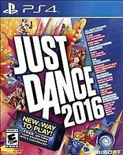 Just Dance 2016 - PlayStation 4 Brand New/Factory Sealed~FREE SHIPPING!!