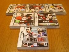 Nintendo DS Games - FIFA COMPLETE COLLECTION - Select From List